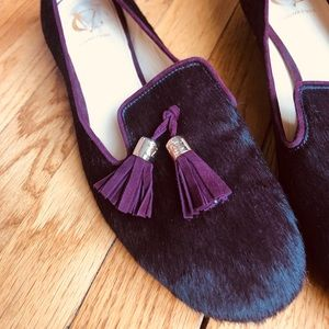 VC Signature Calf Hair Loafer - size 9M